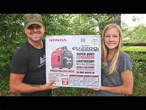 Honda Eu2000i Generator  Inverter