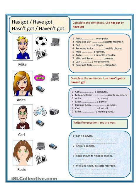 worksheets esl  printables  pinterest