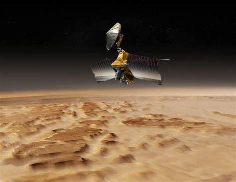 Mars Reconnaissance Orbiter Over Nilosyrtis Mensae