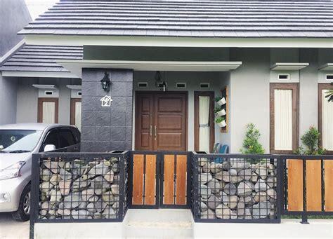 model pagar  rumah mungil desain rumah minimalis