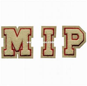 Iron on letters embroidered for sale pricechina for Embroidery prices per letter