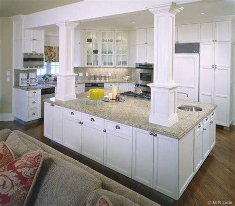 kitchen island with posts kitchen island with columns artisan woods kitchens