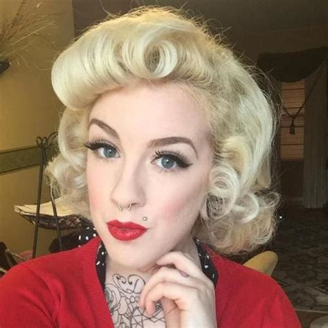 1950s Hairstyles For Medium Length Hair by 40 Pin Up Hairstyles For The Vintage Loving
