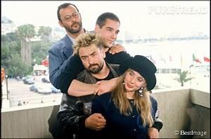 Jean Reno, Jean-Marc Barr, Luc Besson et Rosanna Arquette ...