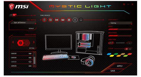 Sync Lights by Mystic Light Vga