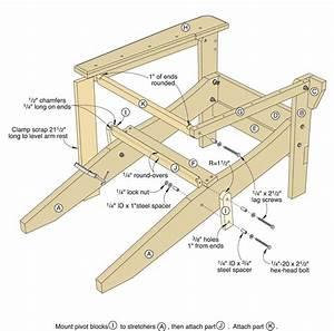 Folding Adirondack Chair Plans Free Download