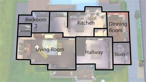 tested sims  house plans modern design  youtube