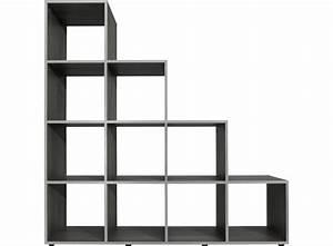 Etagere Escalier But : etagere escalier 10 cases gris fly ~ Teatrodelosmanantiales.com Idées de Décoration