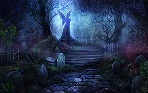 Graveyard, Wallpapers, Hd, Wallpapers, Gothic, Wallpapers