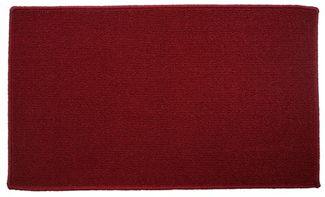 solid color kitchen rugs j m home fashions burgundy solid kitchen mat 18in x 30in 5597