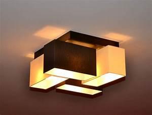 Wohnzimmer Lampe Holz : deckenleuchte deckenlampe designerleuchte milano lampe ~ Lateststills.com Haus und Dekorationen