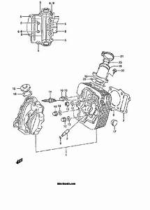 Suzuki 300 King Quad Carburetor Diagram