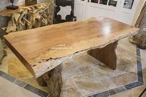 Esstisch Für 2 : esstisch aus einem baumstamm der tischonkel ~ Markanthonyermac.com Haus und Dekorationen