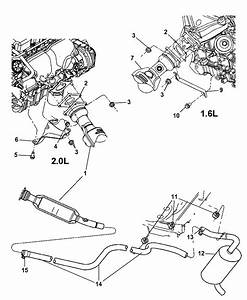 2005 Dodge Neon Sxt Engine Diagram : 5278304aa genuine dodge clamp exhaust ~ A.2002-acura-tl-radio.info Haus und Dekorationen