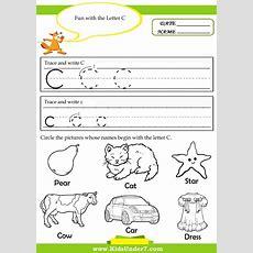 Letter C Worksheets For Preschool  Google Search  Lettersound Activities  Letter C