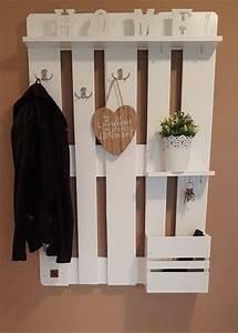 Garderobe Aus Paletten : 25 best ideas about paletten garderobe on pinterest garderobe palette diy garderobe and ~ Sanjose-hotels-ca.com Haus und Dekorationen