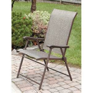mainstays york sling folding chair walmart com