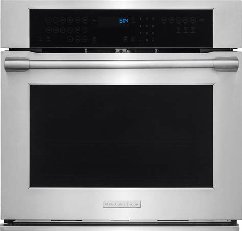 build in oven electrolux e30ew75pps 30 inch single electric wall oven
