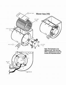 Blower Assembly Diagram  U0026 Parts List For Model 58ctx09010014 Carrier