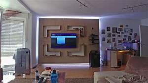 Wand Selber Bauen : stein tv wand selber bauen diy youtube ~ Orissabook.com Haus und Dekorationen