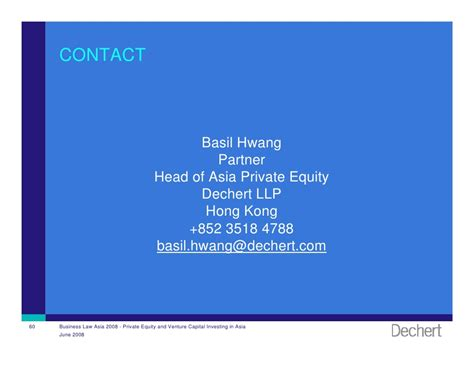 Private Equity and Venture Capital Investing in Asia