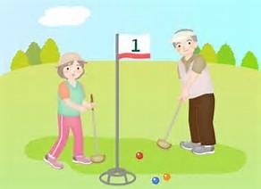 グランドゴルフ イラスト に対する画像結果