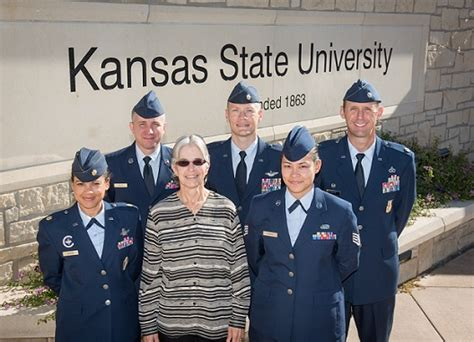cadre air force rotc kansas state university