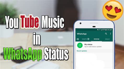 put youtube   whatsapp status  whatsapp