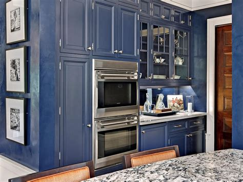 navy blue cabinet paint best colors to paint a kitchen pictures ideas from