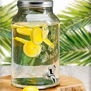 Fontaine A Boisson Avec Robinet : fontaine de boisson distributeur de boisson 5 5 litres en verre avec robinet ~ Teatrodelosmanantiales.com Idées de Décoration