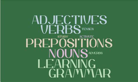 adjective preposition     writing