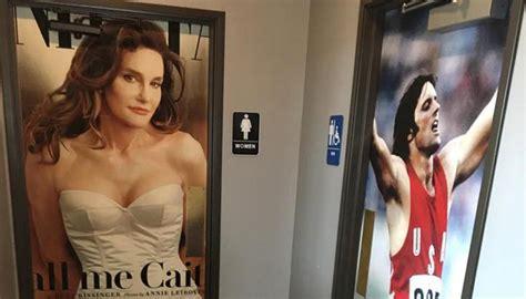 caitlyn jenner   transition toilet doors