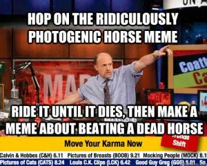 Beating A Dead Horse Meme - horse meme kappit