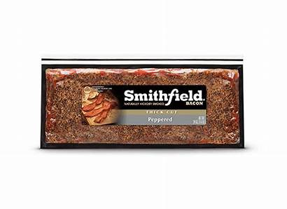 Smithfield Bacon Peppered Cut Thick Oz