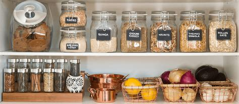 clear glass canisters for kitchen pantry organization for a healthy year mrs meyer 39 s