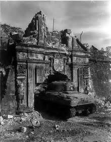 Sherman Tanks Battle of Manila