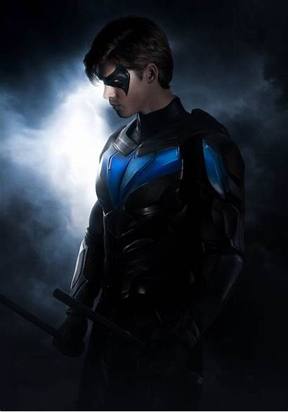 Nightwing Titans 4k Wallpapers Resolution