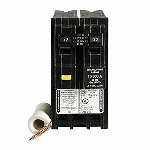 Square D By Schneider Electric Hom220gfic Homeline 20 Amp Two
