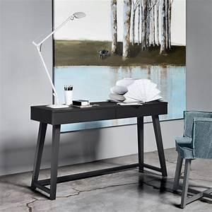Schreibtisch Aus Holz : gray 50 schreibtisch gervasoni aus holz mit zwei ~ Whattoseeinmadrid.com Haus und Dekorationen