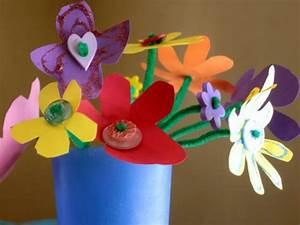 Blumen Basteln Kinder : 100 super bastelideen f r kindergarten ~ Frokenaadalensverden.com Haus und Dekorationen