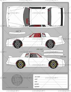 street stock template 1 school of racing graphicsschool With race car graphic design templates