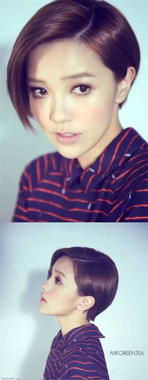 Asian Pixie Hairstyles by Most Lovely Asian Pixie Cut Pics