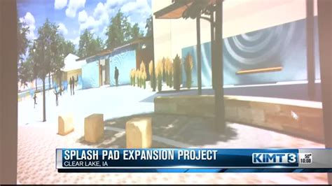 clear lake splash pad project revealed