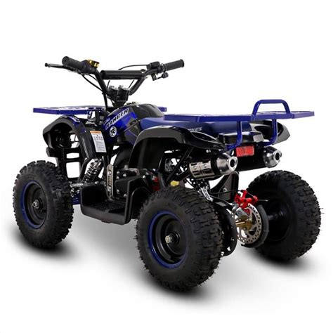 He's been riding a quad bike since he turned 6 but now he's 8 and a half and. FunBikes Ranger 50cc Blue Kids Petrol Mini Quad Bike