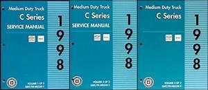 1998 Gmc  Chevy C 7000 Topkick And Kodiak Repair Shop Manual Original Set