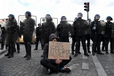 Black Lives Matter supporters march in France and across ...