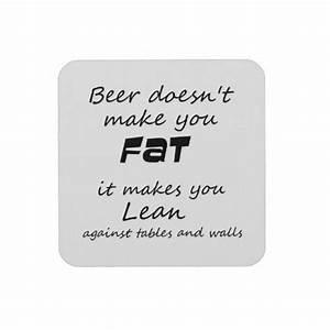Unique funny beer quotes joke humor gift coasters | Zazzle ...