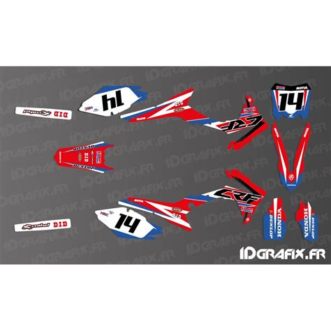 kit decoration honda factory replica 2017 honda cr crf 125 250 45
