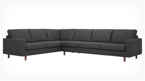 Therapy Sectional by Oskar 2 Sectional Sofa Fabric Eq3 Modern