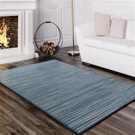 tapis salon moderne fil scintillant raye lignes poils ras